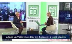 A face un Valentine's Day din fiecare zi a vietii noastre - cu Cornelia Decu Chaumont
