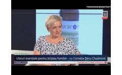 Uleiuri esențiale pentru liniștea familiei - cu Cornelia Decu Chaumont